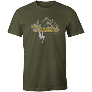 Men's T-shirt - Rock Climbing