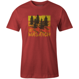 Men's T-shirt - Ski Pines