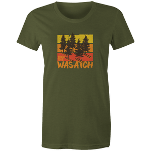 Women's T-shirt - Ski Pines