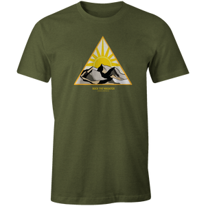 Men's T-shirt - Mountain Sunrise