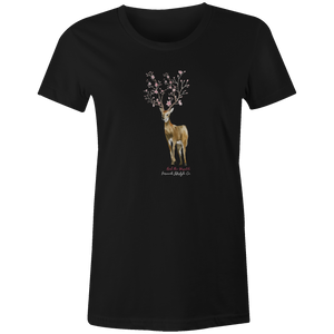 Women's T-shirt - Flowery Deer