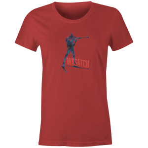 Women's T-shirt - Biathlon