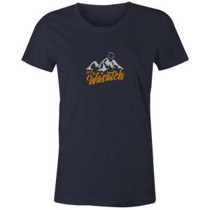 Women's T-shirt - Rock the Wasatch Mountains