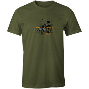 Men's T-shirt - Overland Jeep