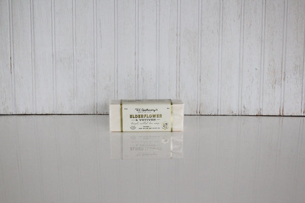 Elderflower and Vetiver Bar Soap