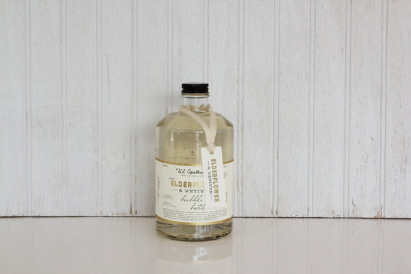 Elderflower and Vetiver Bubble Bath