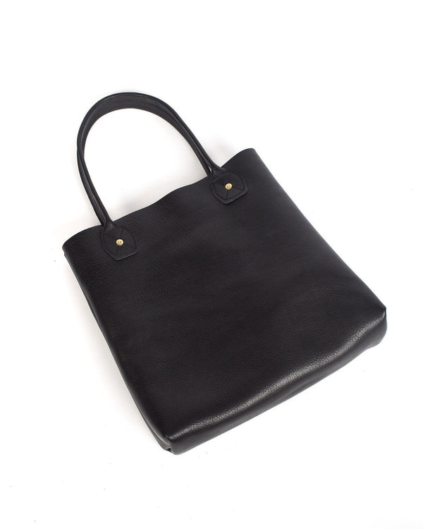 Wood and Faulk Leather Slouch Tote