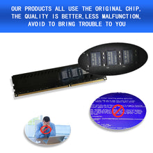Load image into Gallery viewer, Dogfish RAM DDR4 2400MHz (PC4 2133) Desktop PC Memory 1.2V