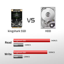 Load image into Gallery viewer, Kingshark Msata SSD 6Gb/s High-Performance Internal Solid State Drives