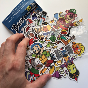 Alphabet Mashup STICKERS - FULL SET