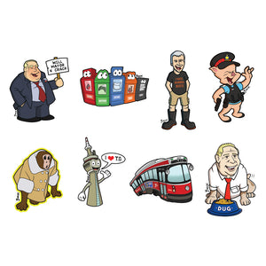 Toronto sticker series