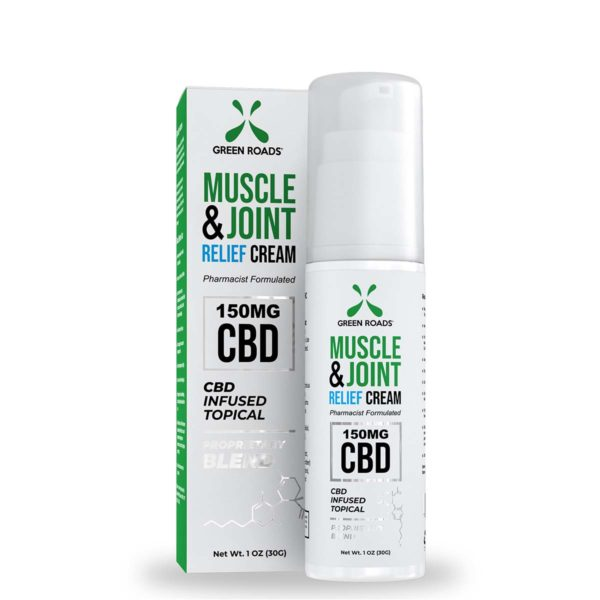Soothing Topical Cream 150mg by Green Roads - CBD vs THC, CBDistillery, Medterra, Elixinol, CBD Vape Juice
