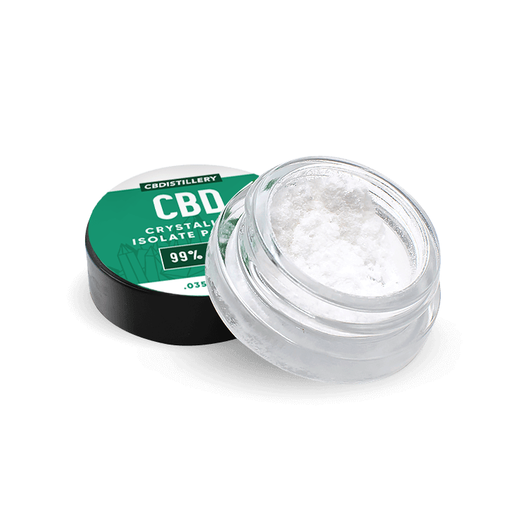 99+% Pure Isolate Powder from Hemp by CBDistillery - CBD vs THC, CBDistillery, Medterra, Elixinol, CBD Vape Juice