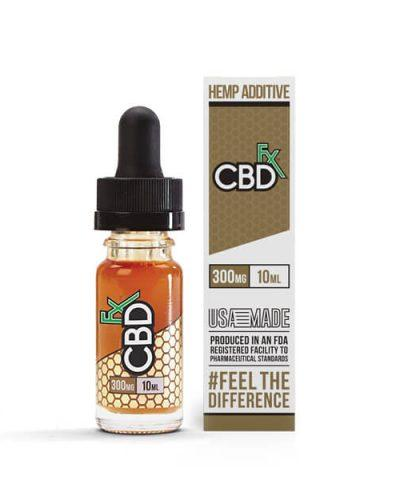 300mg Vape Additive 10ml by CBDfx - CBD vs THC, CBDistillery, Medterra, Elixinol, CBD Vape Juice