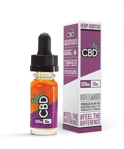 500mg Vape Additive 10ml by CBDfx - CBD vs THC, CBDistillery, Medterra, Elixinol, CBD Vape Juice