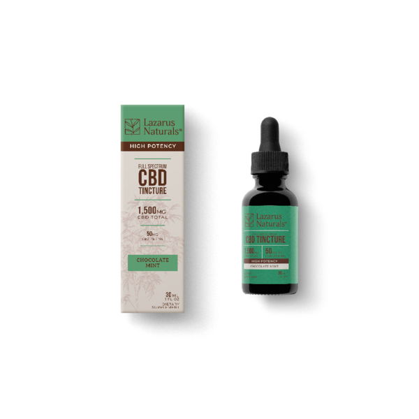30ml High Potency Tinctures by Lazarus Naturals - CBD vs THC, CBDistillery, Medterra, Elixinol, CBD Vape Juice