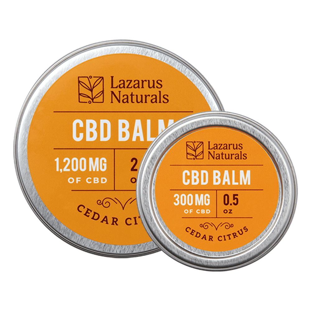 Full Spectrum Cedar Citrus Balm by Lazarus Naturals