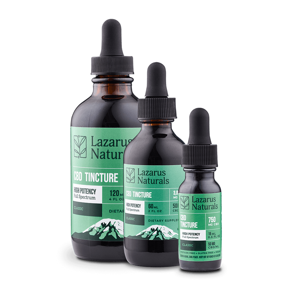 High Potency Tincture by Lazarus Naturals