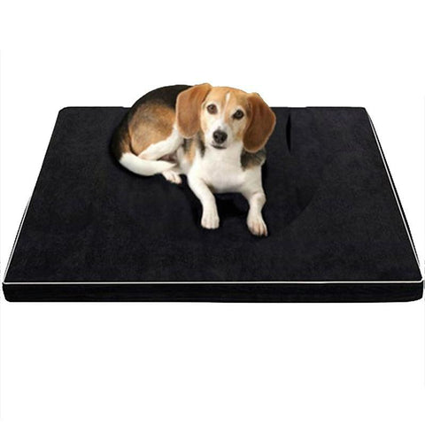 Image of Memory Foam Oxford Bottom Orthopedic Dog Bed For Large Dogs