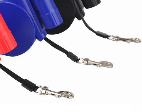 Retractable Dog Leash, LED Light & Clean-up Bag Bundle