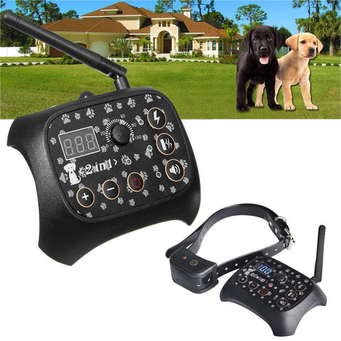 Image of Up To 3 Dogs Electronic Wireless Dog Containment System