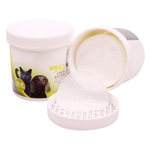 Image of Gentle Pet Eye Tear Stain Wipes