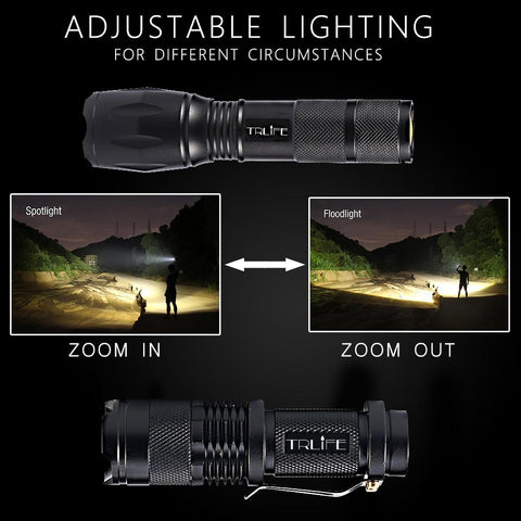 TCFX 10000 Lumens LED Flashlight