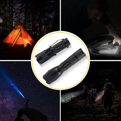Image of TCFX 10000 Lumens LED Flashlight