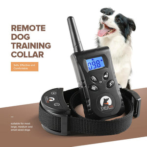Energy-Saving Remote Dog Training Collar, 500 Yard Range