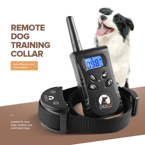 Image of Energy-Saving Remote Dog Training Collar, 500 Yard Range