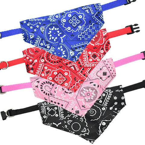 Image of Adjustable Nylon Dog Neckerchief Bandana