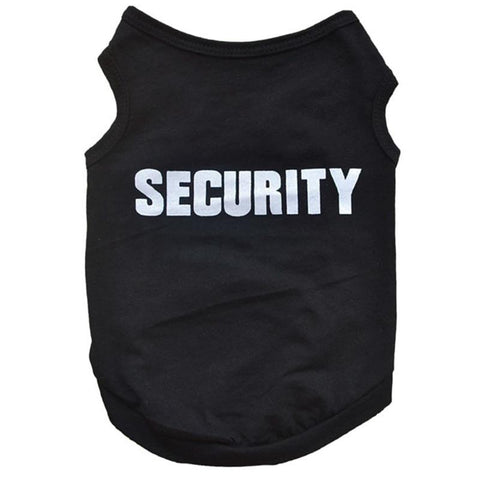 Image of Security T-shirt For Dogs