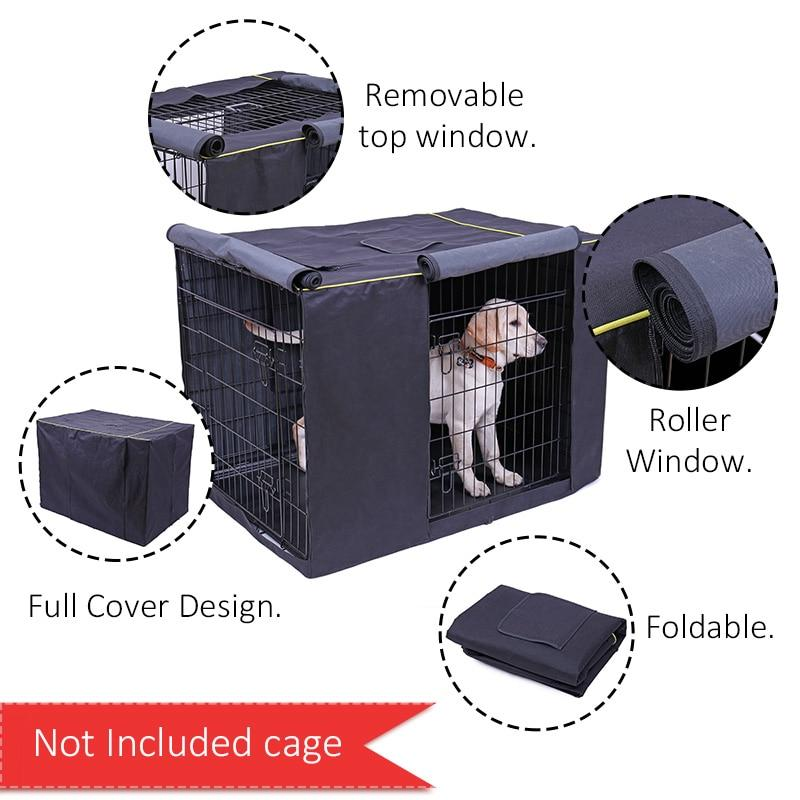 Oxford Waterproof Dog Kennel Cover