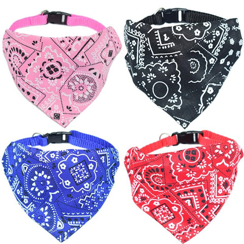 Adjustable Nylon Dog Neckerchief Bandana