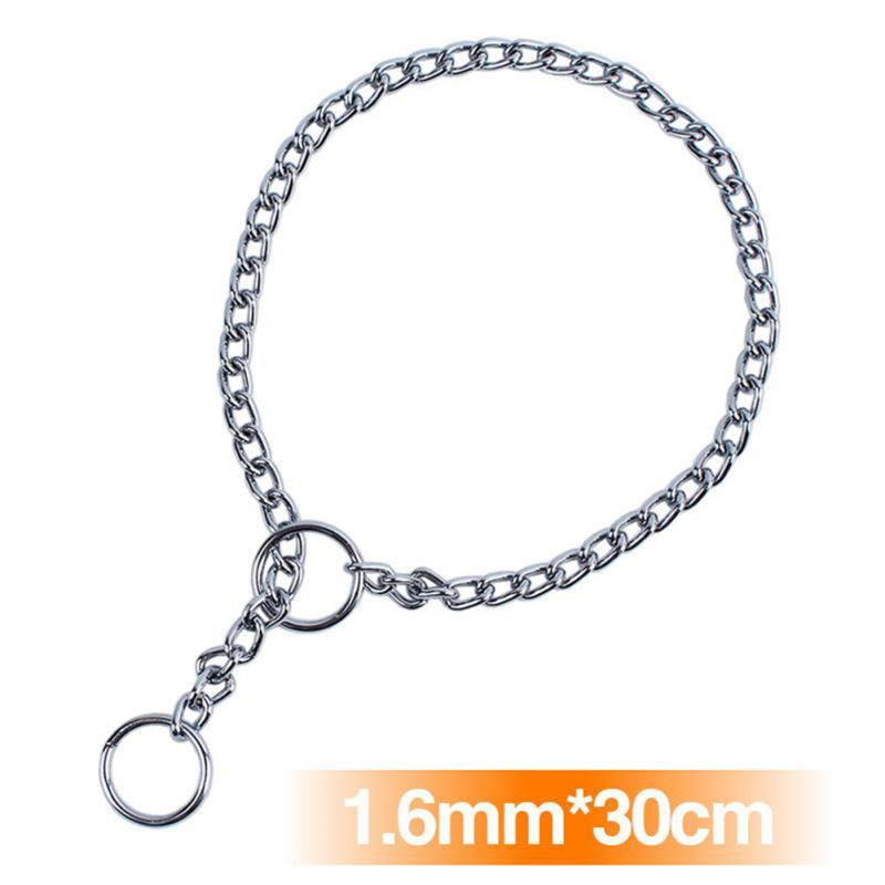 Adjustable Stainless Steel Chain Dog Collar
