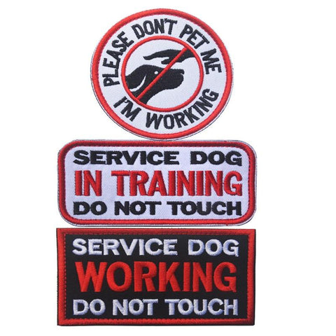 Image of PTSD Service Dog Embroidered Patch