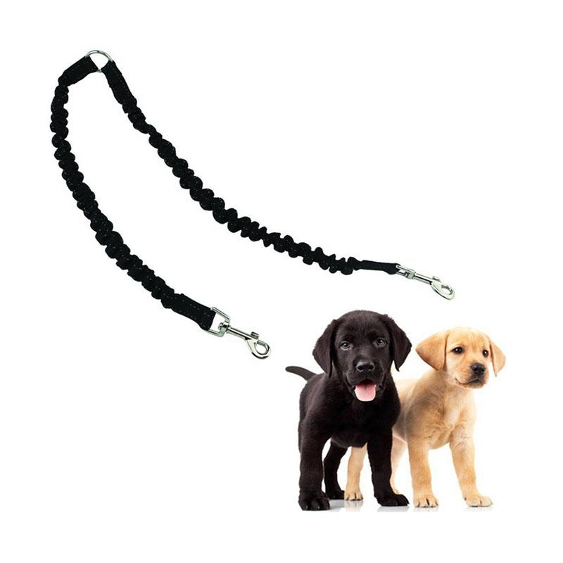 Two Dog Elastic Leash Splitter