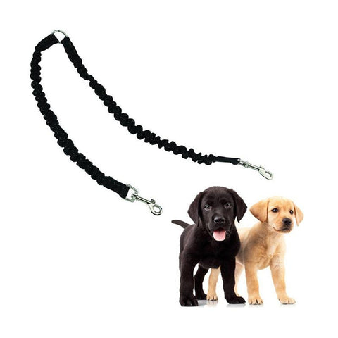 Image of Two Dog Elastic Leash Splitter