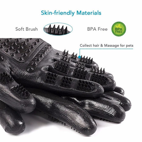 Image of Dog Grooming Gloves