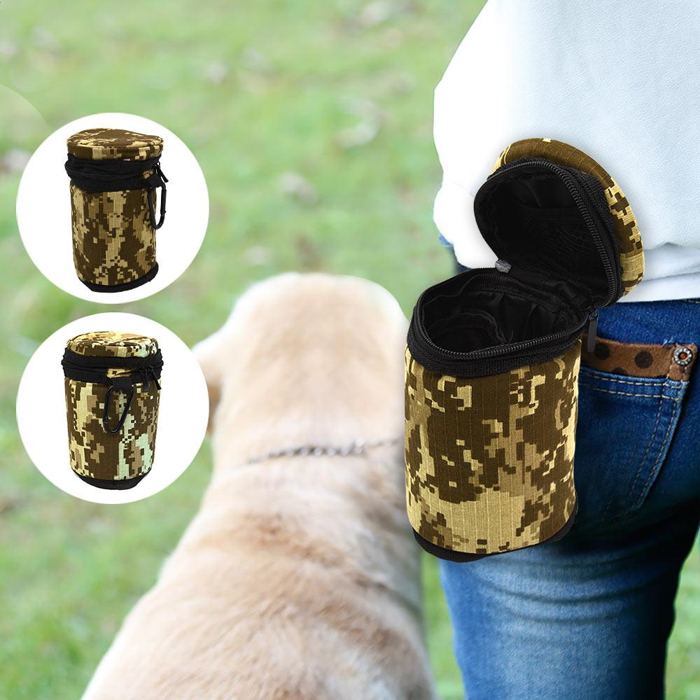 Camouflage Portable Dog Training Treat Bag
