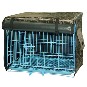 Indoor/Outdoor Waterproof Pet Dog Crate Cover