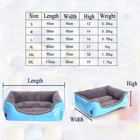 Image of Coast FX Super Plush Cotton Filled Dog Sofa Bed