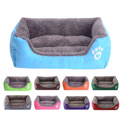 Coast FX Super Plush Cotton Filled Dog Sofa Bed