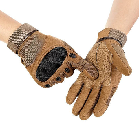 Image of Tactical Hunting Hiking Full Finger Gloves
