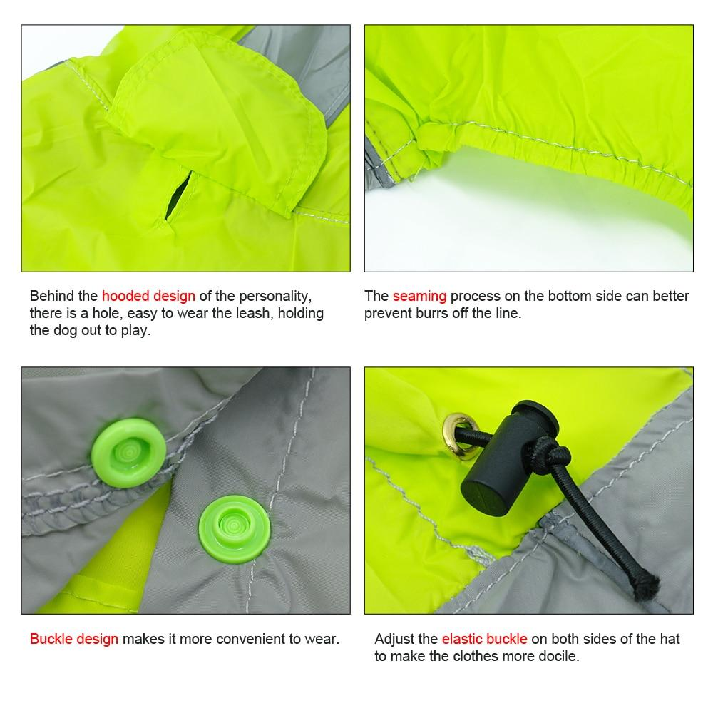 Coast FX Waterproof Dog Safety Raincoat