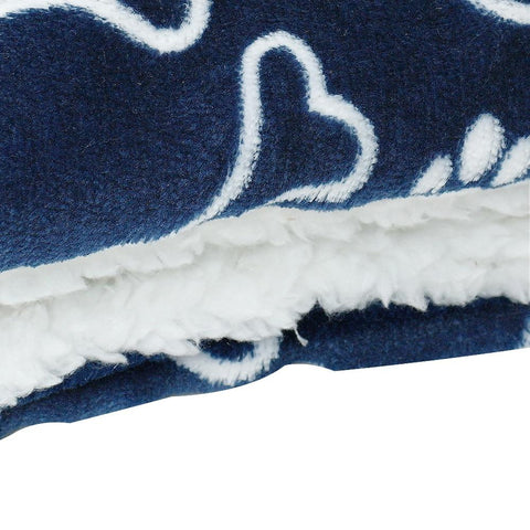 Winter Dog Bed Printed Mat