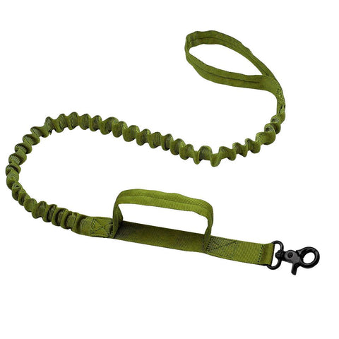 Image of No-Pull Bungee Army Tactical Dog Leash