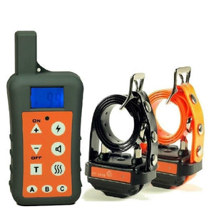 Electronic Multi-Dog Training Collars With Remote Range 1200M