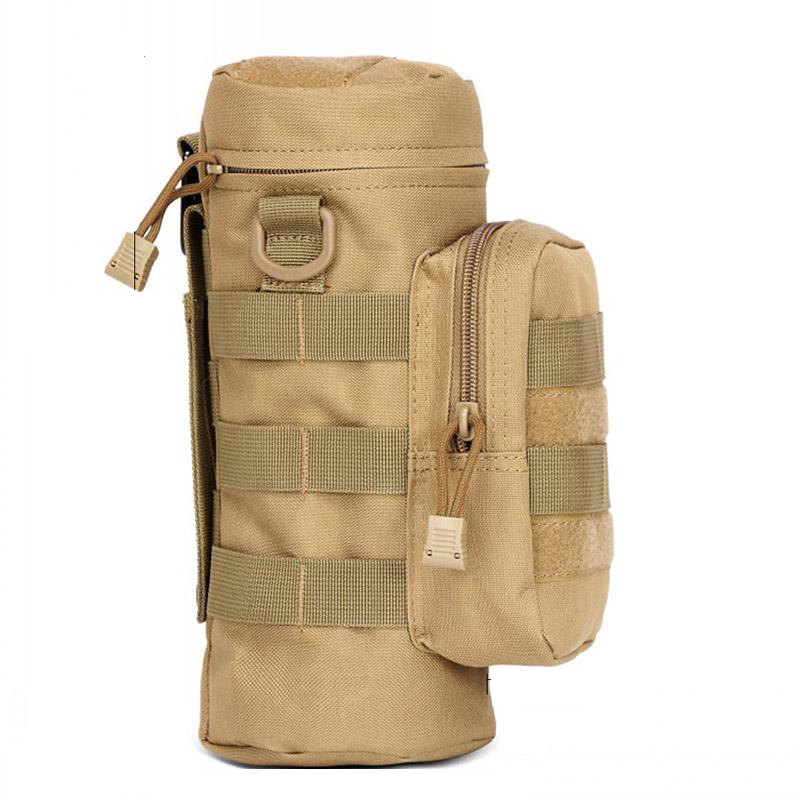 New Tactical Military Water Bottle Kettle Pouch Holder Bag