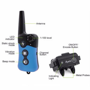 Electronic Dog Training Collar, 330 Yard Range